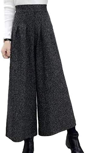 [Stock Sale] [Fioria] Wide Pants, Ankle Length, Elastic Waist, Bottoms, Plain, Commuting to Work, Long, Women's M – XL