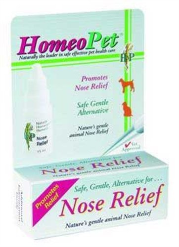 HomeoPet Nose Relief, 15 ml, My Pet Supplies