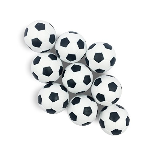 ArnoStore Foosballs Replacements Balls – Set of 9