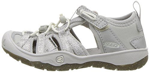 KEEN Baby Moxie Sandal, Silver, 5 M US Toddler - Image 5