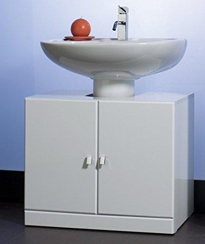 Base copri colonna colore bianco mobile bagno copricolonna: Amazon ...