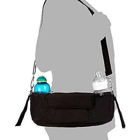 BTR Buggy Organiser with Waterproof Cover /& Washable Bag /& 2 Pram Hooks