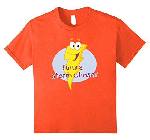 unisex-child Future Storm Chaser T-shirt - Shirt for young storm chasers