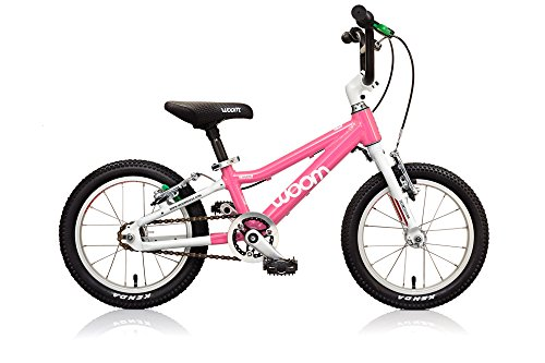 Best savings for WOOM BIKES USA WOOM 2 Bike for 3-5 Years Kids, Pink, 14″/One Size