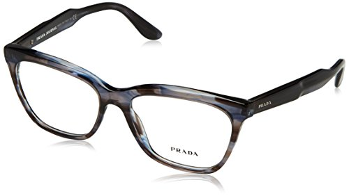 Prada Women's 0PR 24SV Brown 1 One - Of Shapes Names Glasses Frame