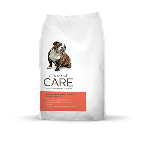 Diamond Care Weight Management Dog Recipe Specially Made As A Low Fat And High Fiber Diet For Weight Loss And Obesity 25Lb