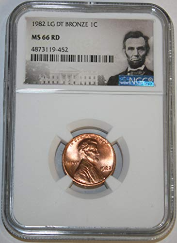 (1982 Lincoln Memorial Cent MS66 Red NGC)