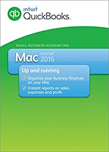 QuickBooks Mac 2016 Small Business Accounting Software [Download]