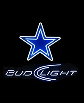 Desung Brand New Sports Teams DC Bud-Light Neon Sign (Various sizes) Beer Bar Pub Man Cave Business Glass Neon Lamp Light DB119