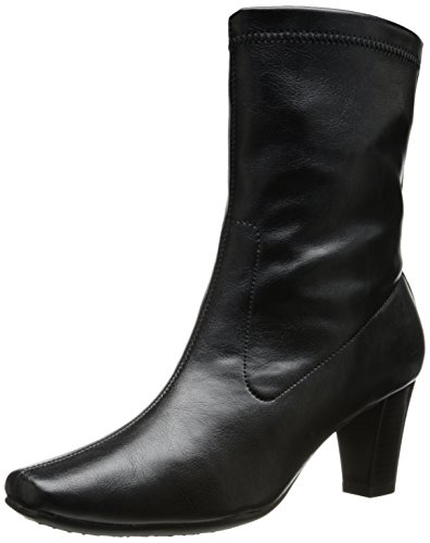 Aerosoles Geneva Mid Calf Boots - Black 6.5 M, Black
