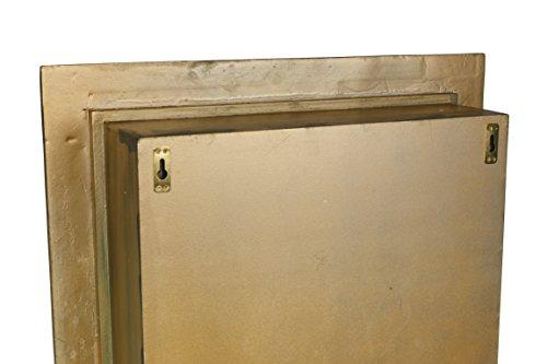 AdirHome Ornamental Wood Wall Shelf with 4 Sections by AdirHome (Image #2)