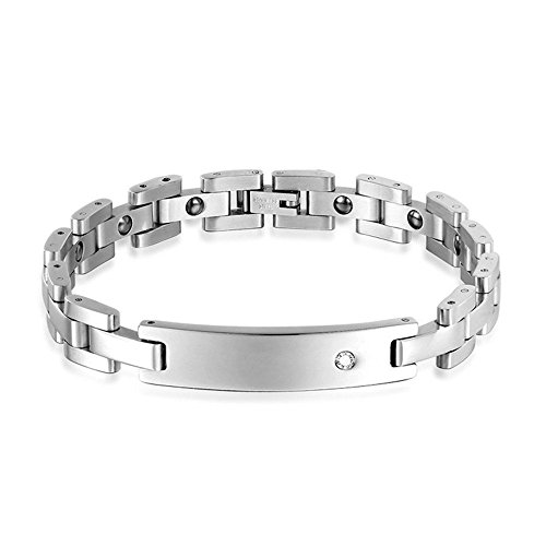 bluebell-jelwery-stainless-steel-cz-diamond-matching-set-magnetic-link-chain-bracelet-for-couples-si