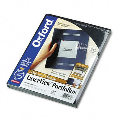 Laserview Imperial Single-Pocket Portfolios with Window (Portfolios Single Pocket)