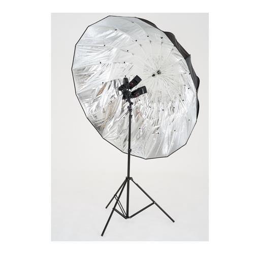 Lastolite LL LU7908F Mega Umbrella 61-Inch (157cm) Silver Parabolic Cover (Silver) by Lastolite