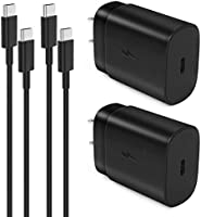 USB Type C Wall Charger,25W Super Fast Charger for Samsung Galaxy S21/S21+/S21 Ultra/S20/S20+/S20 Ultra/Note 20/Note 20...