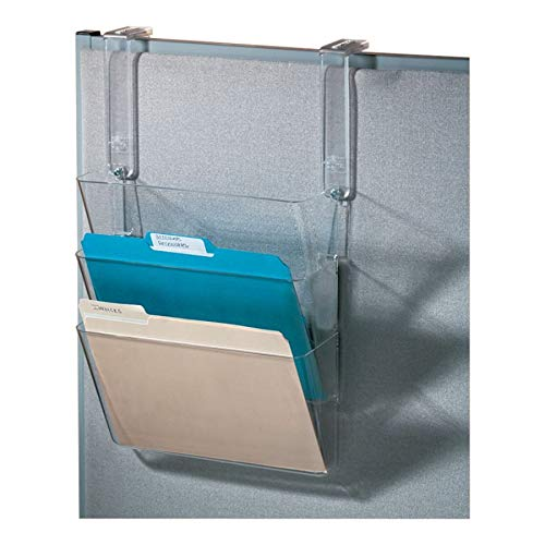 (Office Depot Stak-A-File(TM) Starter Set with Hangers, Clear, 59761)