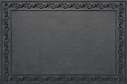 Heavy Duty 24 x 36 Inch Rubber Door Mat/Tray