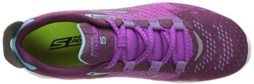 Purple Deporte para 5 Zapatillas de Skechers Mujer Performance Exterior Go Run EU Morado 35 wfqBwPxUY