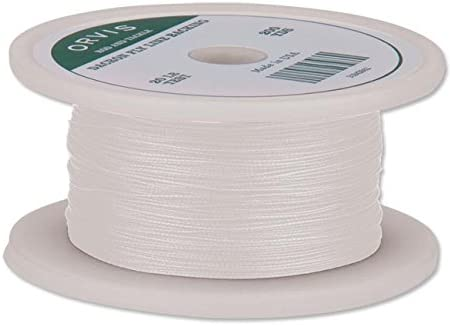 Orvis Braided Dacron Backing for Fly Lines White 12-Pound Test 2,500 Yds