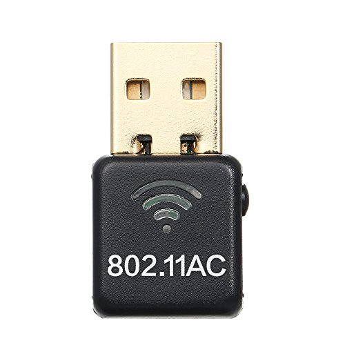 Wireless USB WiFi Adapter AC 600M Dual Band (2 4G/150Mbps+5G/433Mbps) Mini  USB WiFi Network Adapter for Windows/Linux/MAC OS
