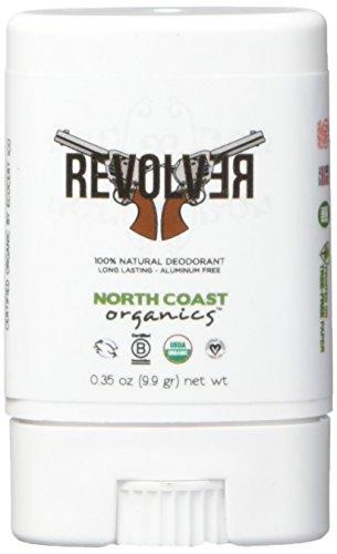 NORTH COAST ORGANICS Revolver Organic Travel Deodorant, 0.02 Pound