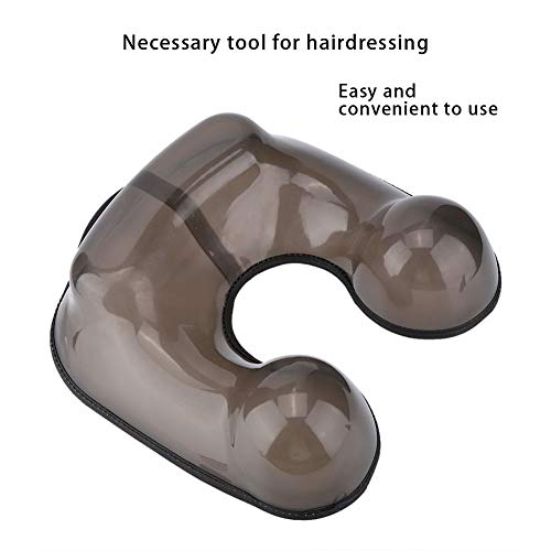 Gojiny Hair Perming Neck Tray Container, PVC Hair Perming Neck Tray Shoulder Support Hairdressing Tool for Hair Salon