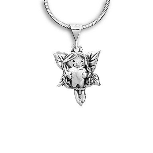 Sterling Silver Tooth Fairy Pendant by The Magic Zoo -