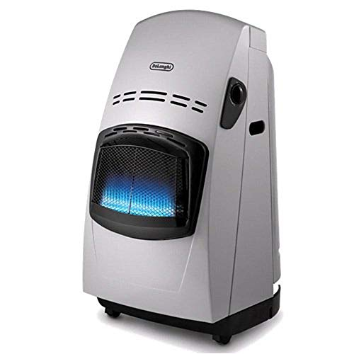 De'Longhi Estufa Catalitica Delonghi Vbf 4200W, Blue Flame, 4200 W, Acero Inoxidable, plástico, plateado