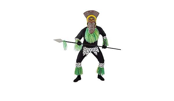 DISBACANAL Disfraz de Africano para Hombre - -, L: Amazon.es ...
