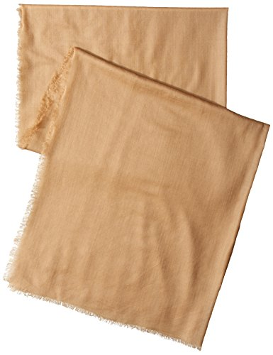 Phenix Cashmere Lightweight Wool Wrap, Camel, One Size by Phenix Cashmere (Image #2)