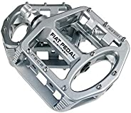 UPANBIKE Magnesium Alloy Bike Pedals 9/16'' Spindle Bearing High-Strength Non-Slip Large Flat Platform