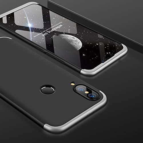 SANHENGMIAO COVER para el teléfono Celular Huawei para Huawei Nova 3 Chasis de PC de Empalme de Tres Niveles de Cobertura...