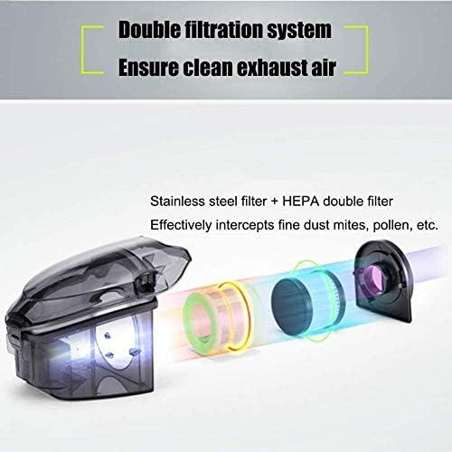 REWD Stérilisation de lit à ultraviolet pour ménage anti-acariens haute vitesse Prévention des acariens Déshumidification Mini aspirateur Argent