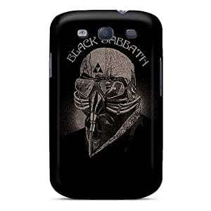 Anti-Scratch Cell-phone Hard Covers For Samsung Galaxy S3 With Allow Personal Design High-definition Black Sabbath Band Pictures JamieBratt