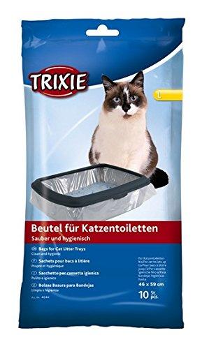 Trixe Bulk – Trixie para gatos, bolsas, 46 59 cm, 6 paquetes de 10 – 60 piezas