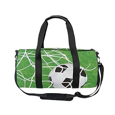high-quality ALAZA Hipster Soccer Game Sports Gym Duffel Bag Travel Luggage  Handbag for Men e3a4580095446