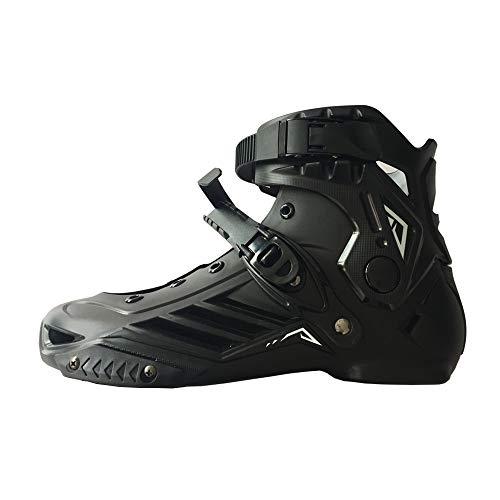 LIKU Inline Skate Boots (Black, Men 8.5 Women 9.5)