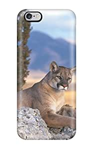 Flexible Tpu Back Case Cover For Iphone 6 Plus - Lion