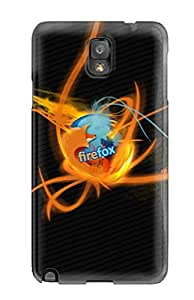 New Style Hard Case Cover For Galaxy Note 3- Burning Firefox 2276849K55295228