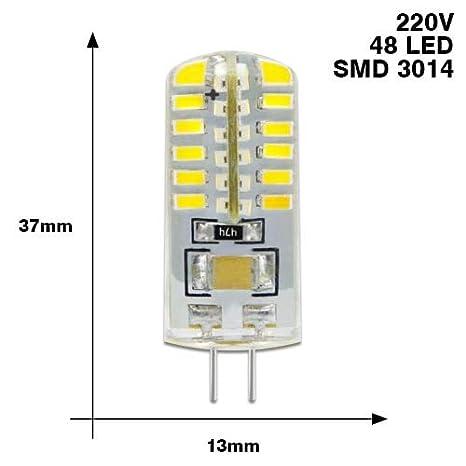 bombilla Led G4 3014 Smd 3W 2W 1W 220V Y Dc 12V G4 Lámpara Led Lámpara