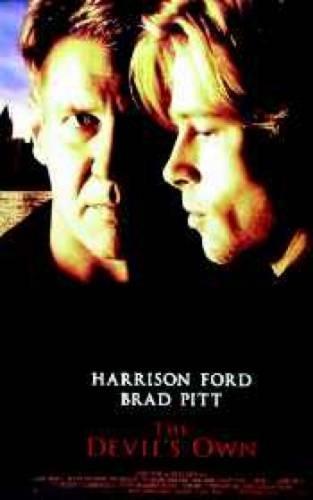 The Devil's Own Brad Pitt Harrison Ford Poster