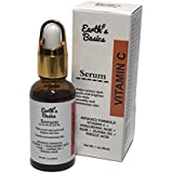 Earth's Basics Vitamin C Serum For Face Dark Spot Corrector With Hyaluronic Acid And Botanicals, 1 oz.