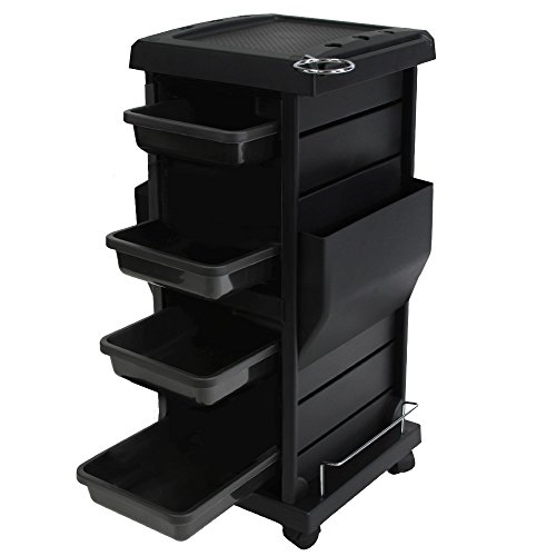Salon Spa Tool Accessories Holder Storage Trolley Cart Package TR-10A