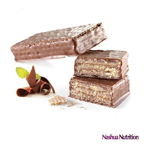 ProtiDiet Protein Wafer Bar - Chocolate (7/Box) - High Protein 15g - Low Sugar