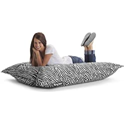 Big Joe Bean Bag, Zebra
