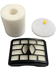 CF Clean Fairy Vacuum Filters Compatible with Shark Rotator Professional Lift-Away NV500, NV501, NV502, NV503 Replacement for XFF500 & XHF500