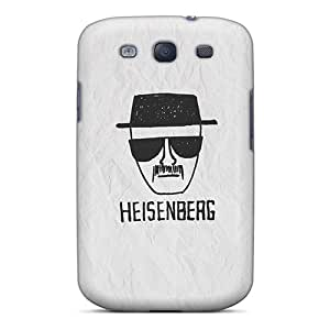 Hard Protect Phone Case For Samsung Galaxy S3 (pcU14423FSUG) Customized High Resolution Heisenberg On Paper Series