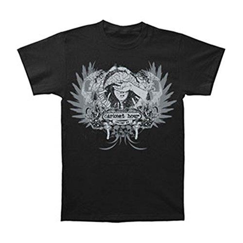 Darkest Hour Boys' Skulls T-shirt Youth Large Black ()