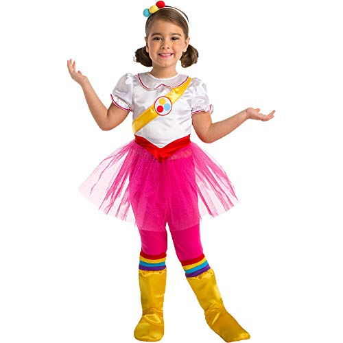 AFG Media Ltd True and the Rainbow Kingdom True Costume for Children, Size Small, Includes Dress, Backpack, and More -