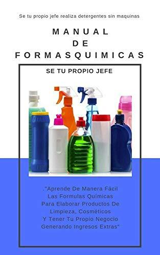 Amazon.com: Formulas Quimicas Para Elaborar productos De ...